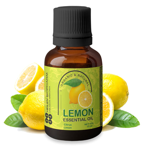 Lemon Essential Oil (Citrus Limon) Aromatherapy, Astringent, Detoxifying, Hair & Skin Care