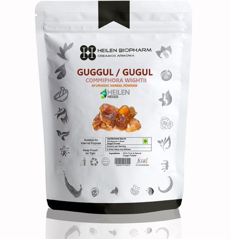 Guggul Herbal Powder (Commiphora wightii) Indian bdellium/gugal/gugul/Mukul myrrh