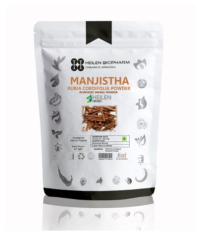 Manjistha Herbal Powder (Rubia Cordifolia) Indian Madder/Majith/Tamaralli/Manditti