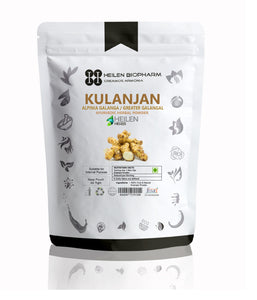 Kulanjan Herbal Powder (Alpinia / Greater Galanga) Thai / Blue Ginger