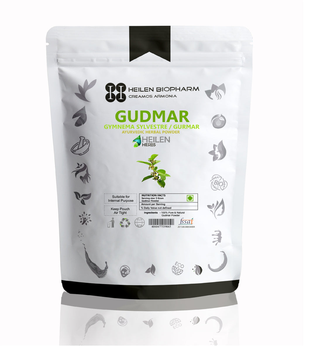Gudmar Herbal Powder (Gymnema sylvestre) Madhunashini