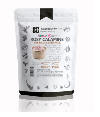 Rosy Calamine (Zinc Oxide, Rose, Green Tea & Hibiscus Powder)