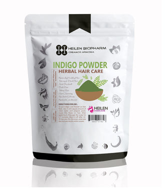 Indigo Leaves Powder for Hair Pack - Hair Growth, Natural Dye & Anti-Dandruff