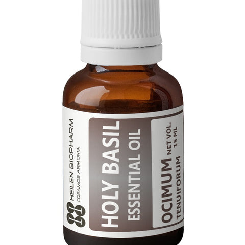 Holy Basil Essential Oil (Tulasi/Ocimum tenuiflorum) Anti-Anxiety Immunity Boost