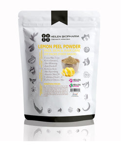 Lemon Peel Powder for Face, Skin & Hair Packs - 100% Natural, Food Grade