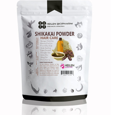 Shikakai Powder Hair Pack -  Dark, Thick, Shine, Anti-Dandruff Acacia concinna