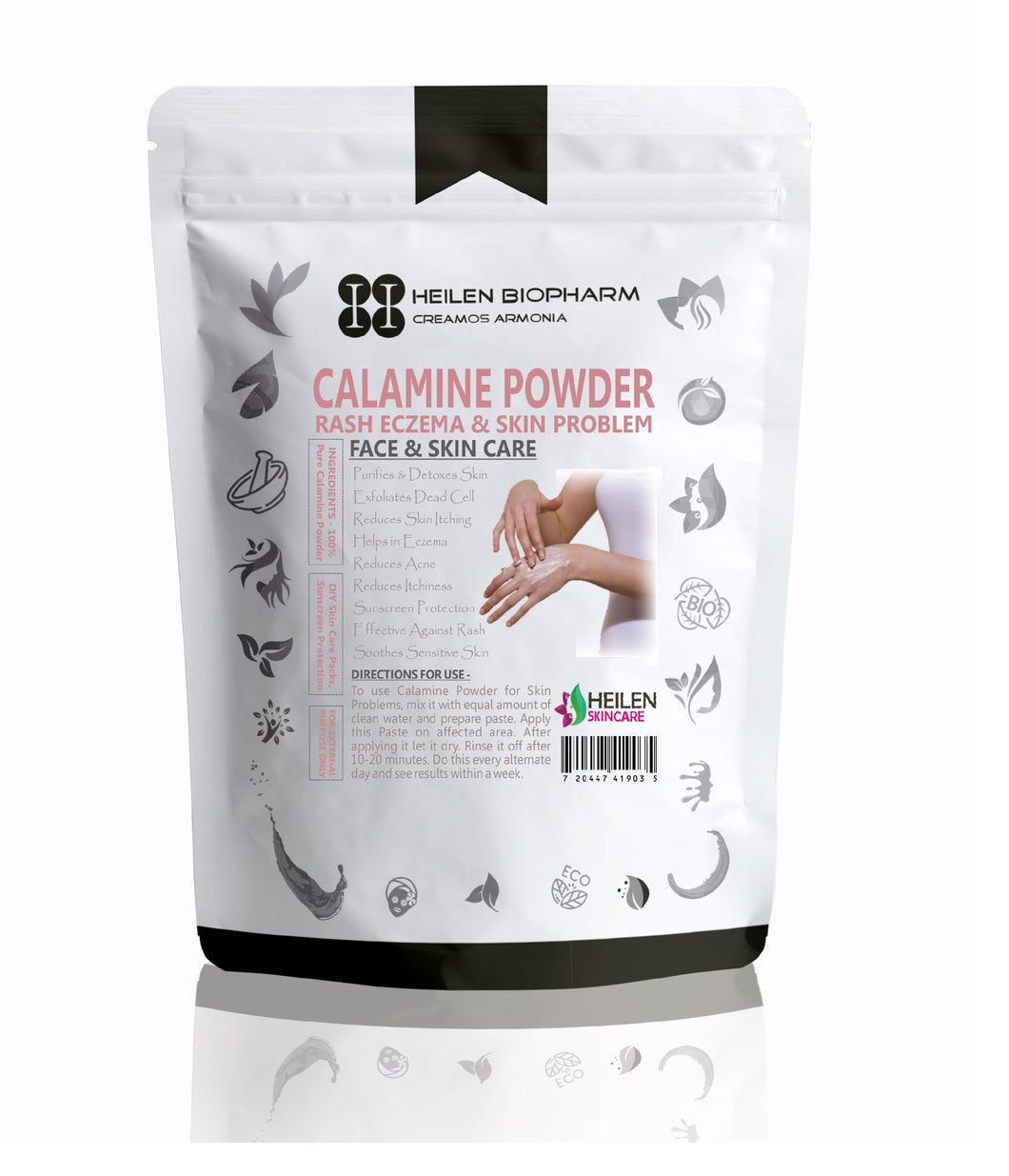 Diaper Rash Powder with Calamine & Zinc Oxide