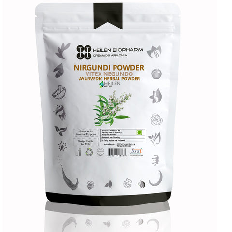 Nirgundi/Sambhalu Powder - Vitex Negundo Root Powder