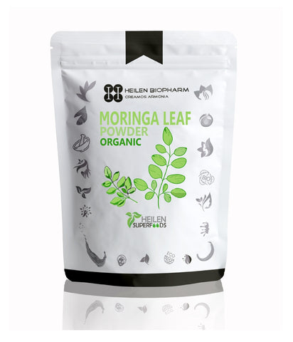 Superfood Moringa Leaf Powder - Food Grade, 100% Natural