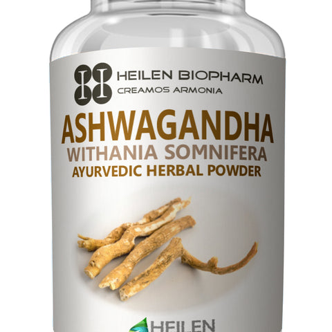 Premium Ashwagandha Powder & Capsules - Indian Ginseng / Withania somnifera