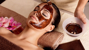 Skin Tightening Face Mask - Orange Peel, Rose, Aloe Vera, Bentonite, Kaolin Powder