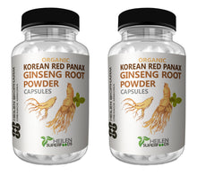Load image into Gallery viewer, Korean Red Panax Ginseng Root Powder & Capsules