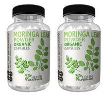 Load image into Gallery viewer, Premium Moringa Leaf Powder & Capsules