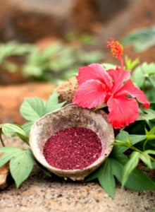 Calamine with Hibiscus Powder for Face Pack for Glowing Skin