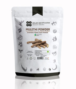 Mulethi/Omorose Licorice/Yashtimadhu Root/Glycyrrhiza Glabra powder