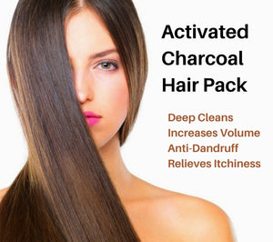 activated charcoal hair mask