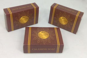 Calamine Soap With Essence of Milk & Honey