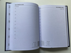 University of Leeds A5 Day to Page diary
