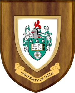 University of Leeds crest shield