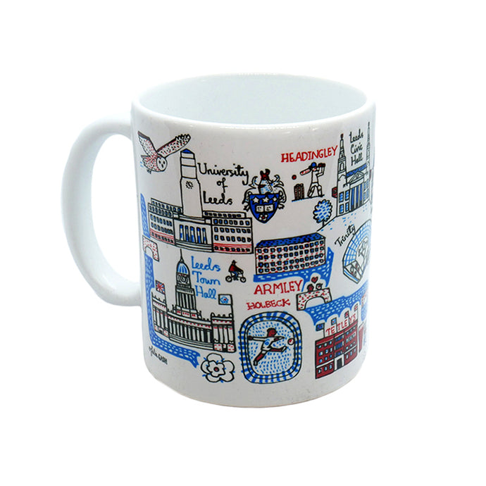 Leeds Illustrated Ceramic Mug