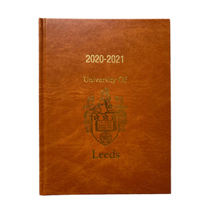 University of Leeds A5 Week to View diary