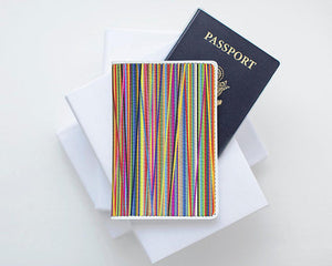 Colorful Pattern Passport Purse Passport Holder