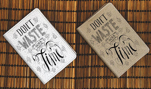 Motivational Quote Passport Wallet Passport Cover