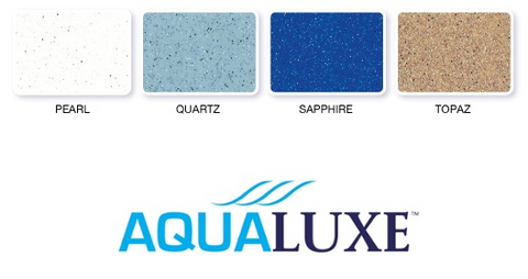 Aqualuxe pool finishes