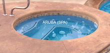 Load image into Gallery viewer, Aruba & Aruba Spillover Spa 7' Round