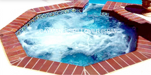 Load image into Gallery viewer, Cayman & Cayman Spillover Spa 8' X 8'