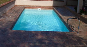 The Gulfstream Fiberglass Pool 12' X 24'