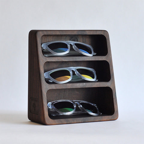 3-Pocket Glasses Stand