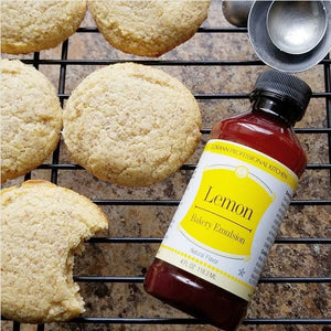 Chewy Lemon Cookies - keto, low carb, sugar-free, gluten free