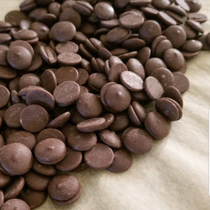 MILK CHOCOLATE Sugar Free Buttons for baking, snacking, candy making.  stevia sweetened.