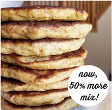 "NOW 50% MORE MIX! - Just like ""Buttermilk"" Pancake Mix - low carb, keto, sugar free, gluten free"