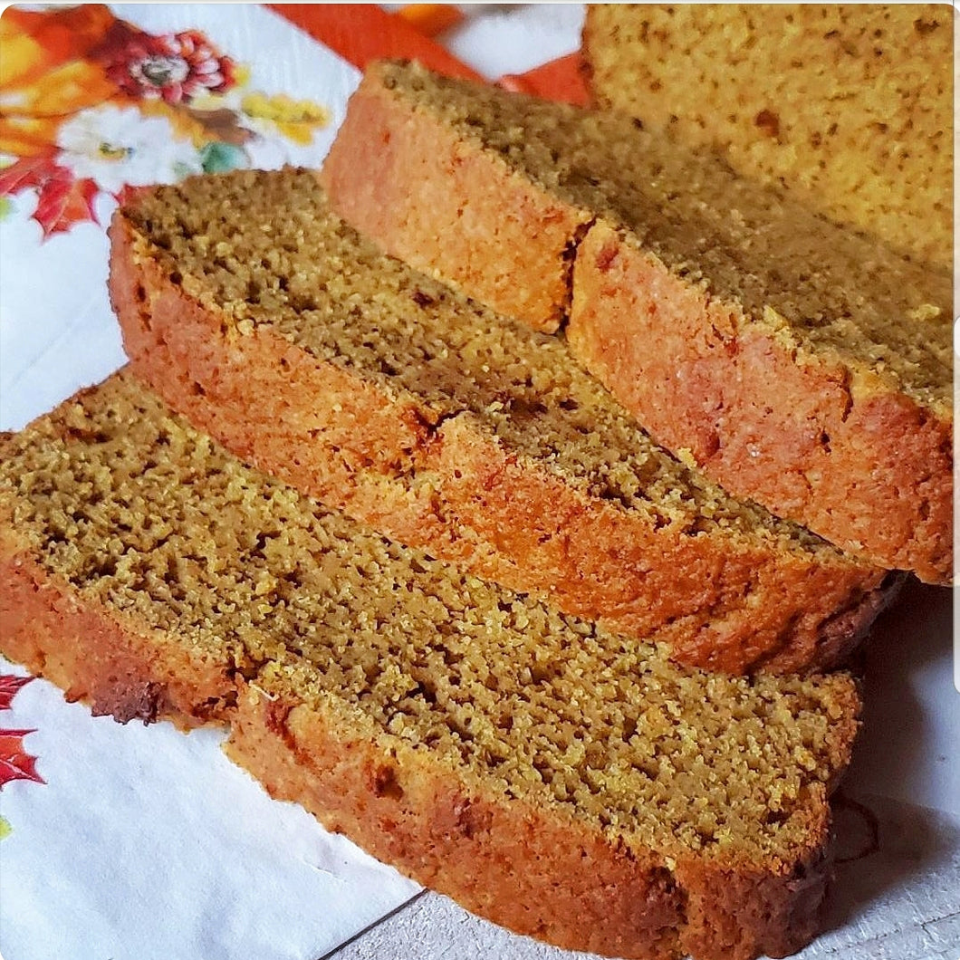 Coffeehouse Pumpkin Bread Mix - low carb, keto, sugar free, gluten free