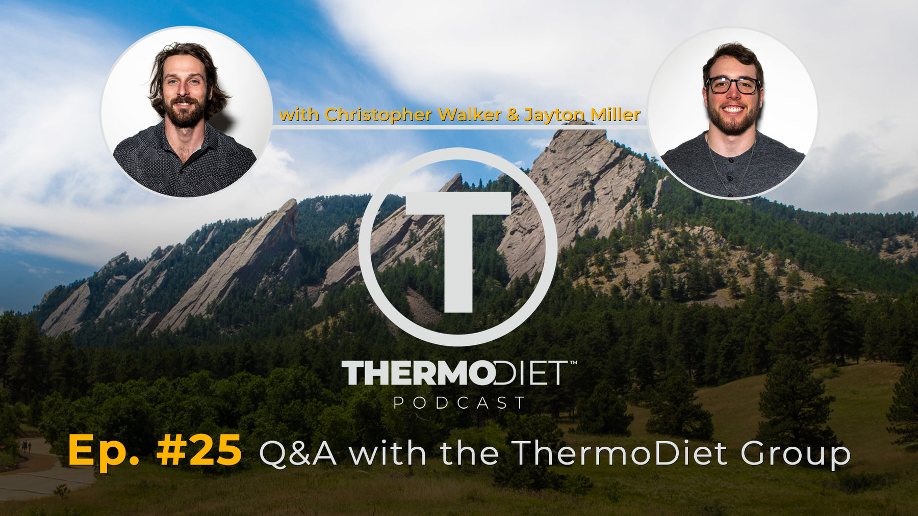 Thermo Diet Podcast Episode 25 - Thermo Diet Group Q&A