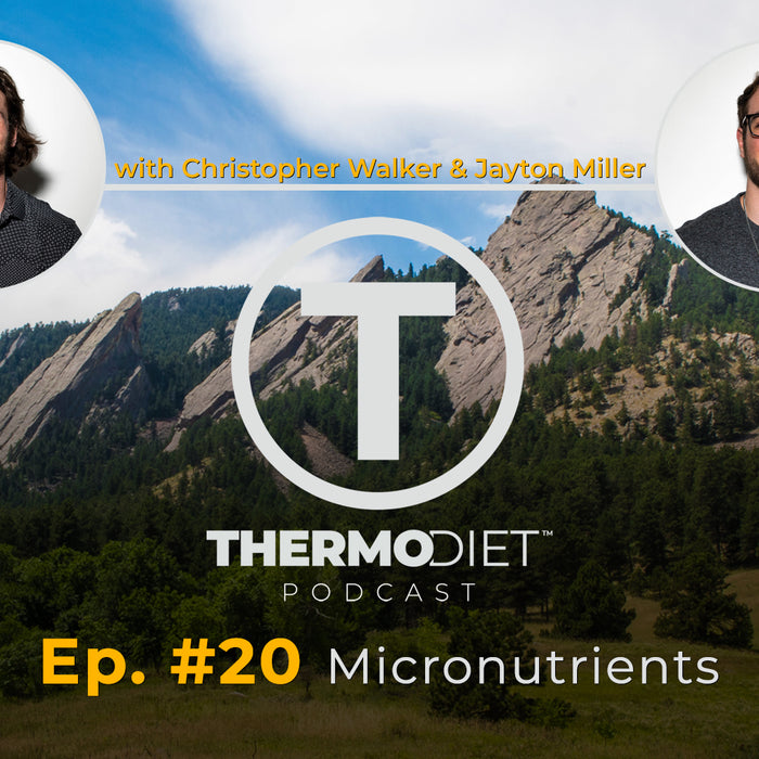 Thermo Diet Podcast Episode 20 - Micronutrients