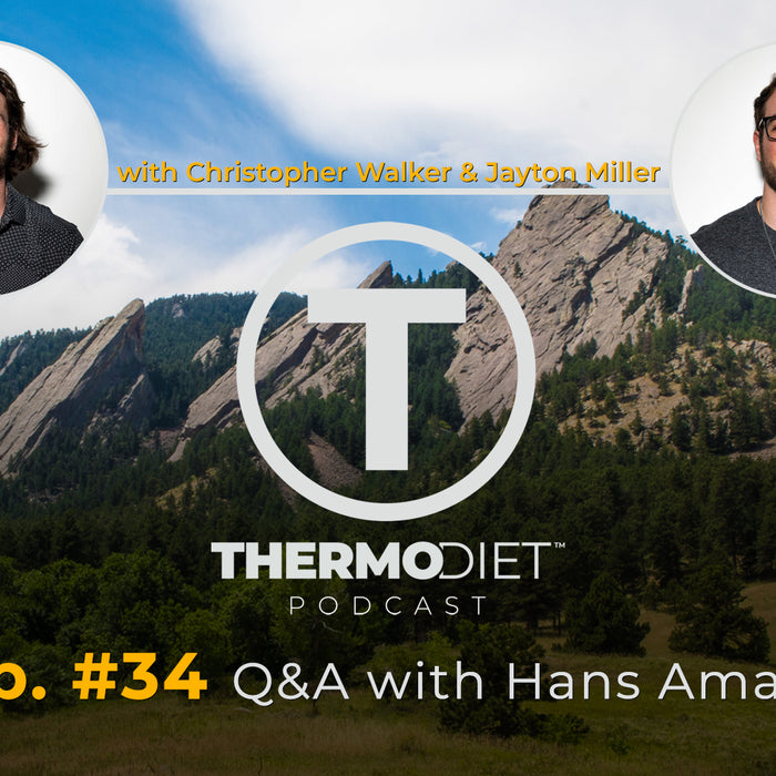 The Thermo Diet Podcast Quarantine Edition Episode 34 - Hans Amato