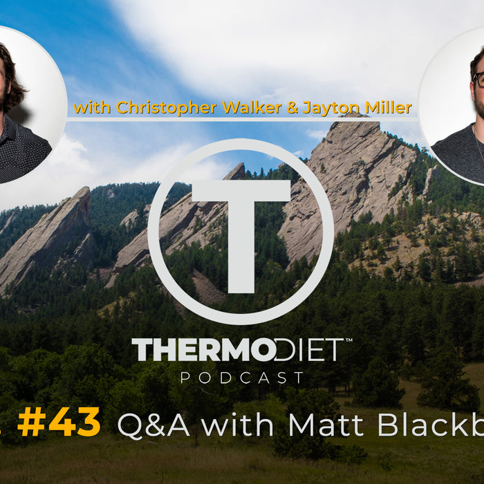The Thermo Diet Episode 43 - Matt Blackburn