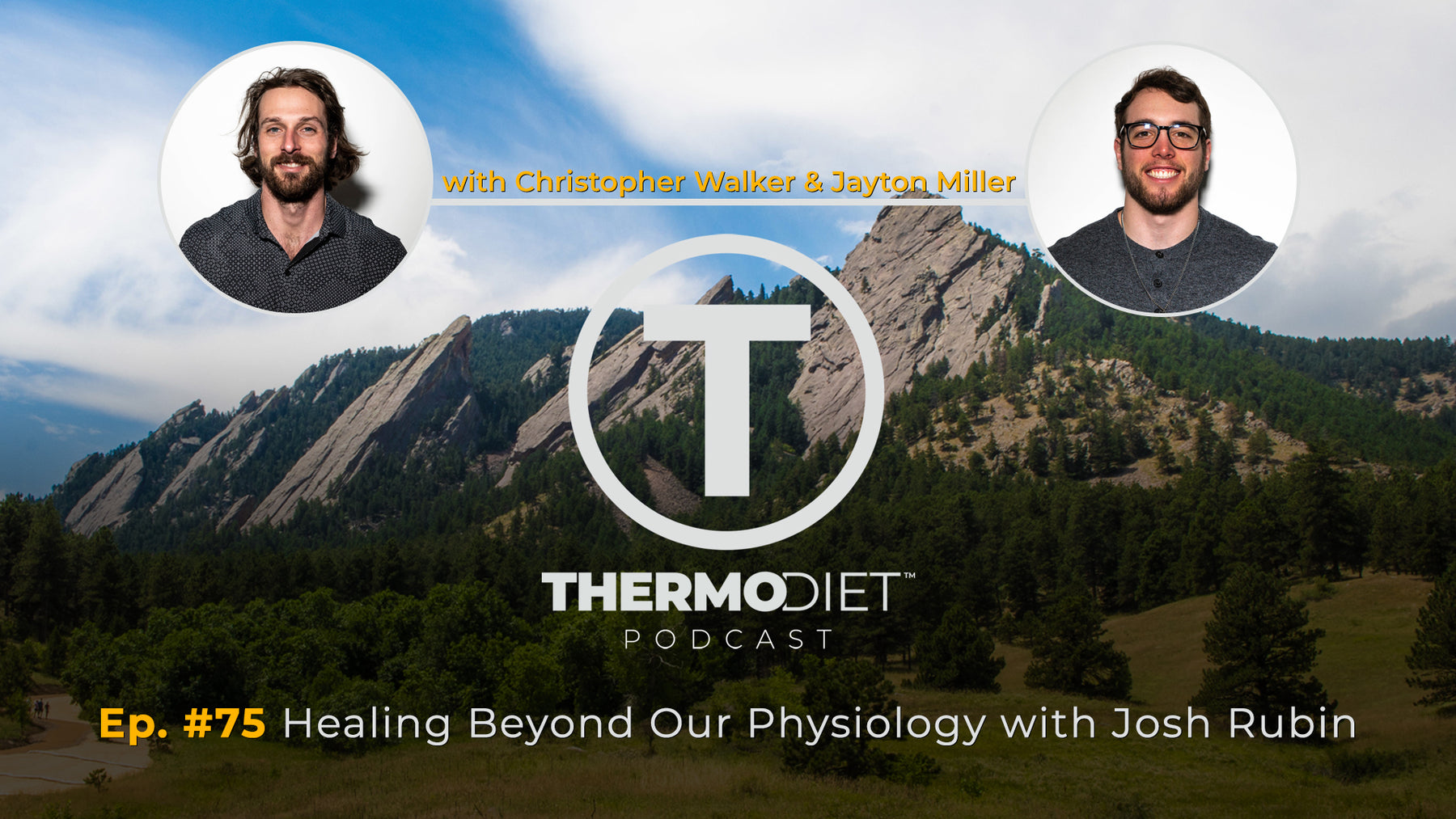 The Thermo Diet Podcast Episode 75 - Healing Beyond Our Physiology w/ Josh Rubin