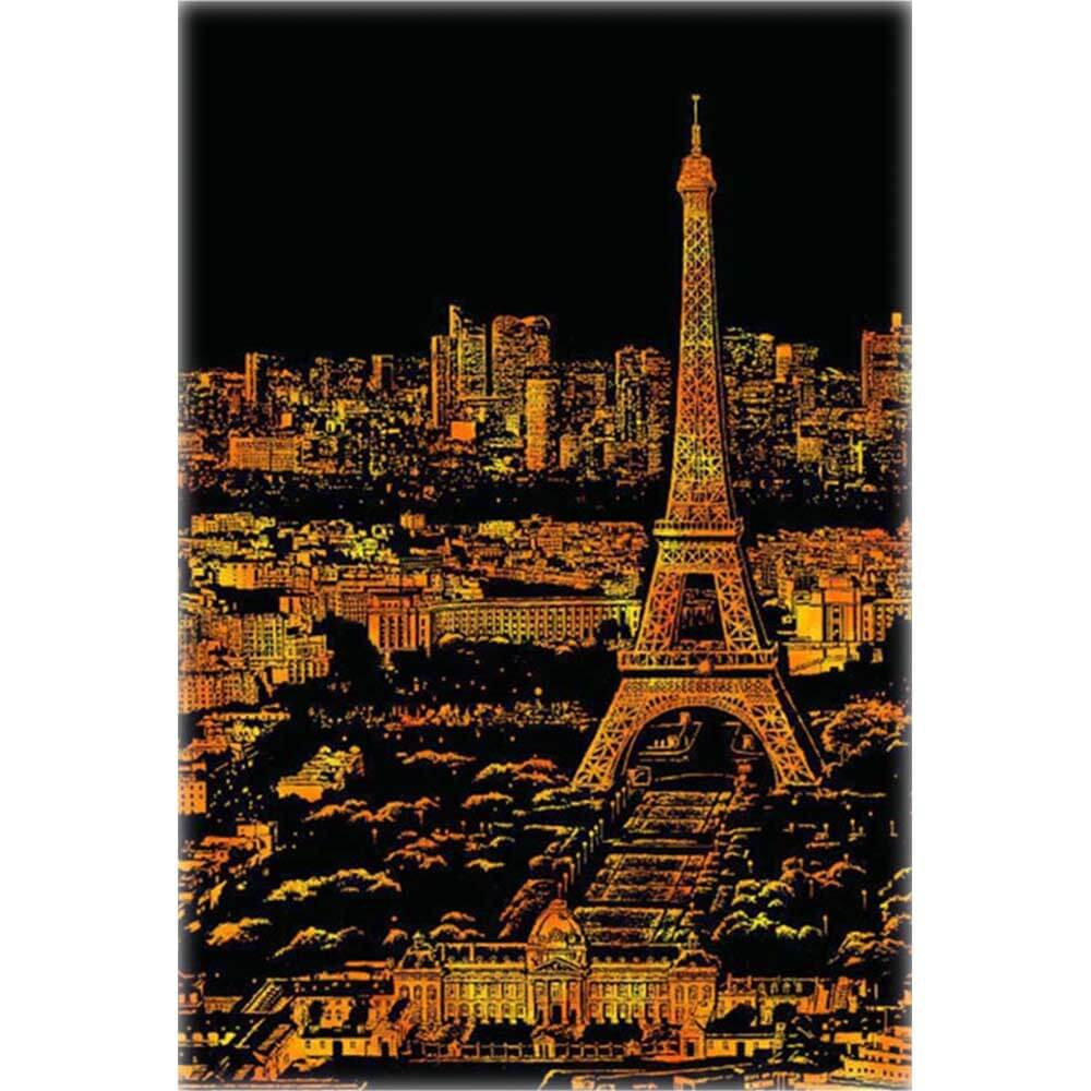 Scratch_Painting_Paris_bei_Nacht
