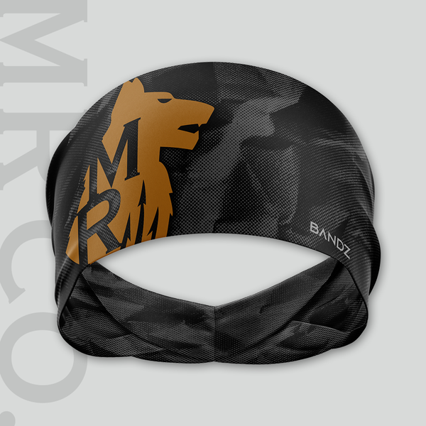 MR Co. Training Headband - Black Halftone