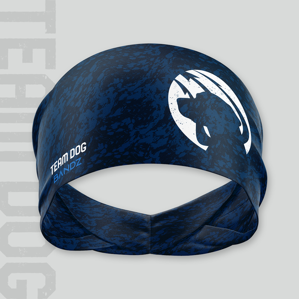Team Dog Training Headband - Navy Marble