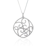 The Faint Spiral Necklace