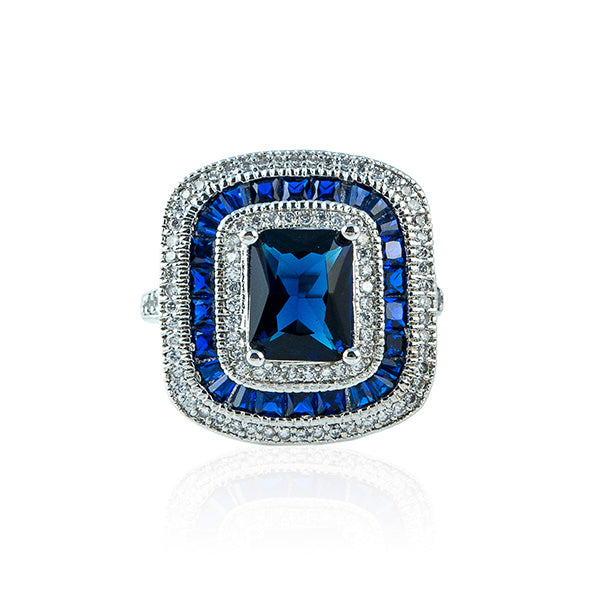 The Timeless Sapphire Ring