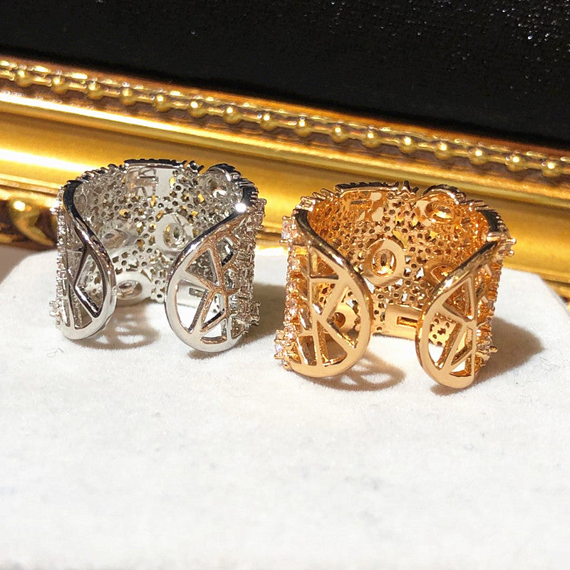 The Adored Hope Ring - Gold and Silver