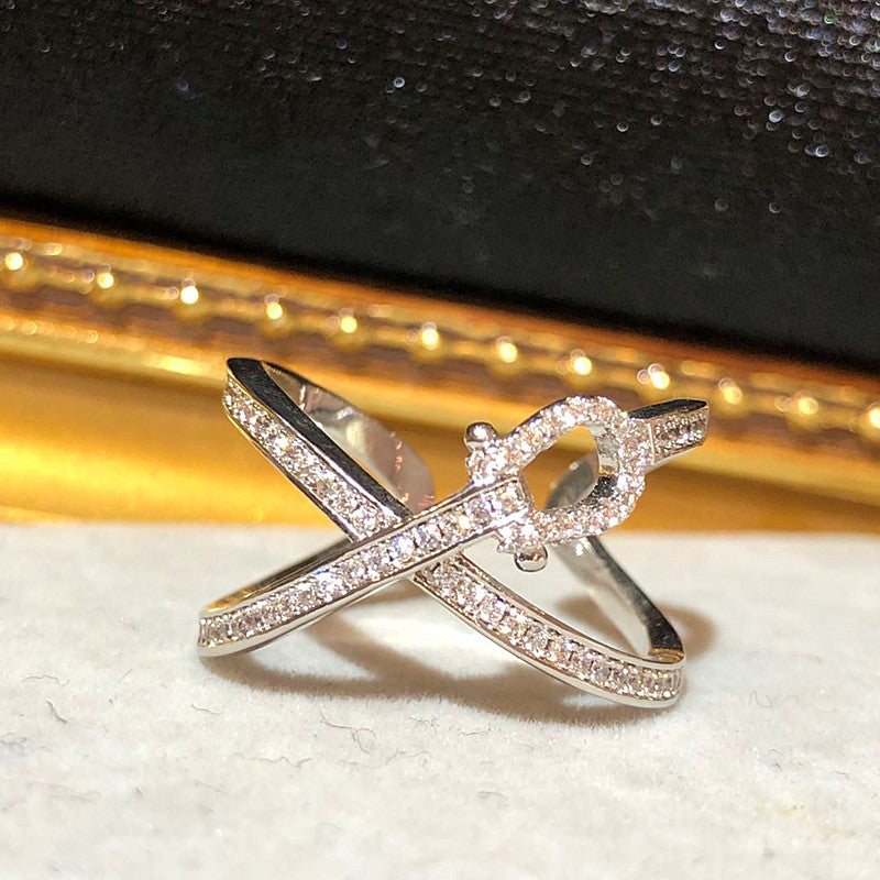 The Angel Swan Ring - 2 colour