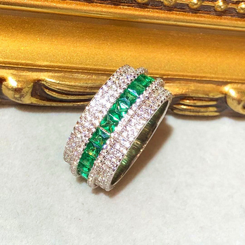 The Emerald Globe Full Eternity Ring