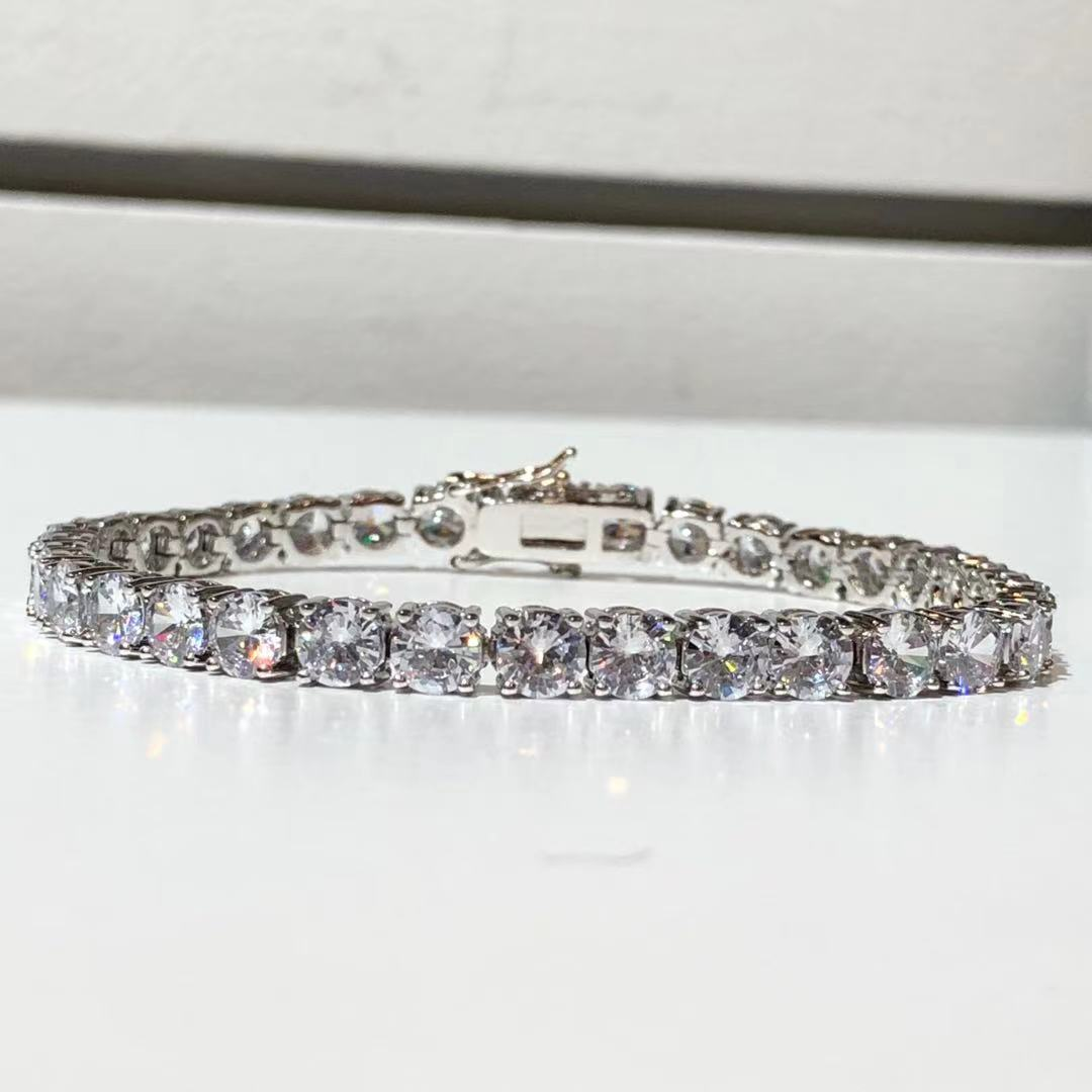 The Eternity Tennis Bracelet